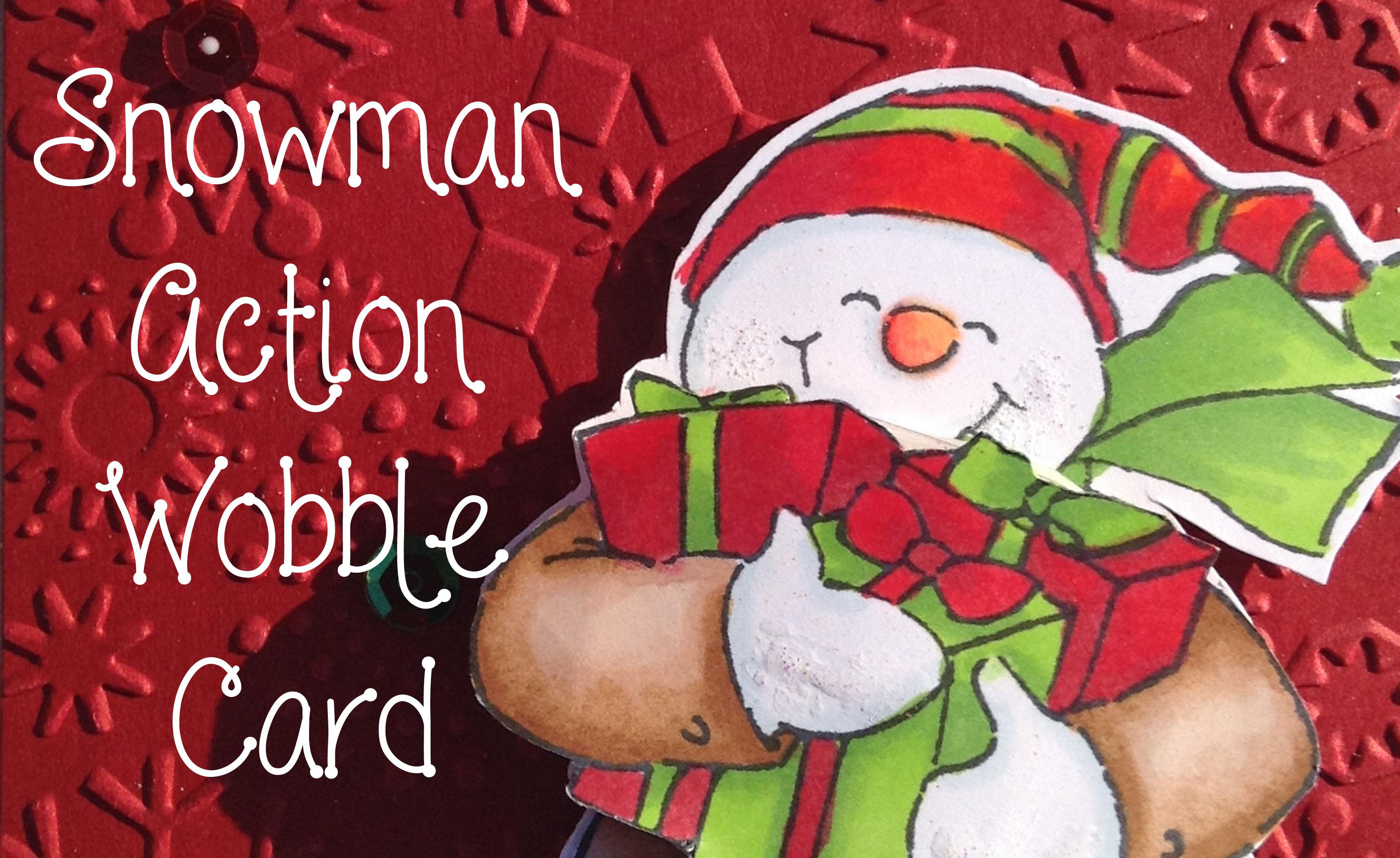 Snowman wobble