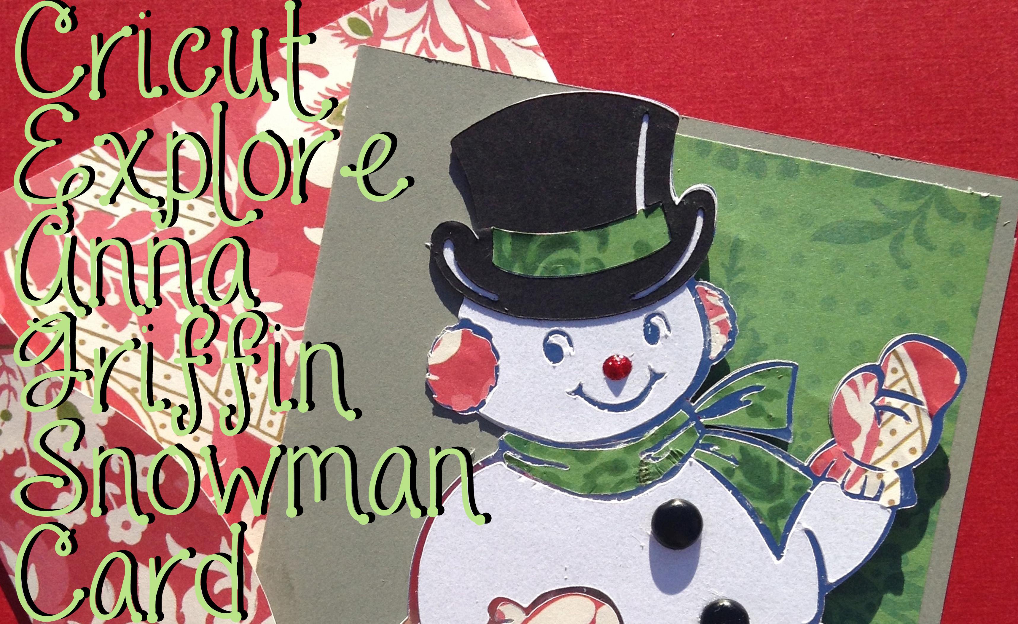 cricut snowman