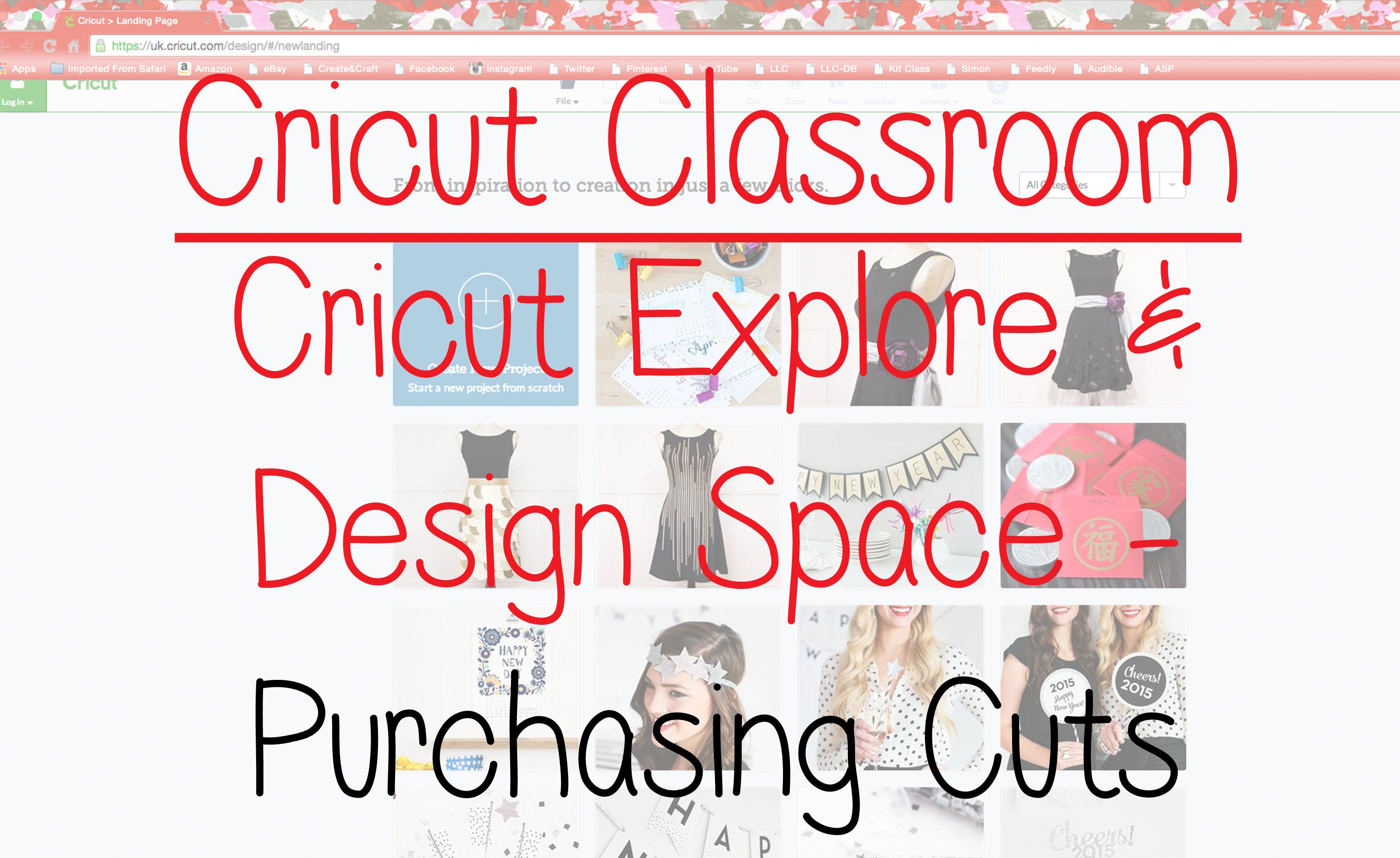Cricut Classroom (explore)