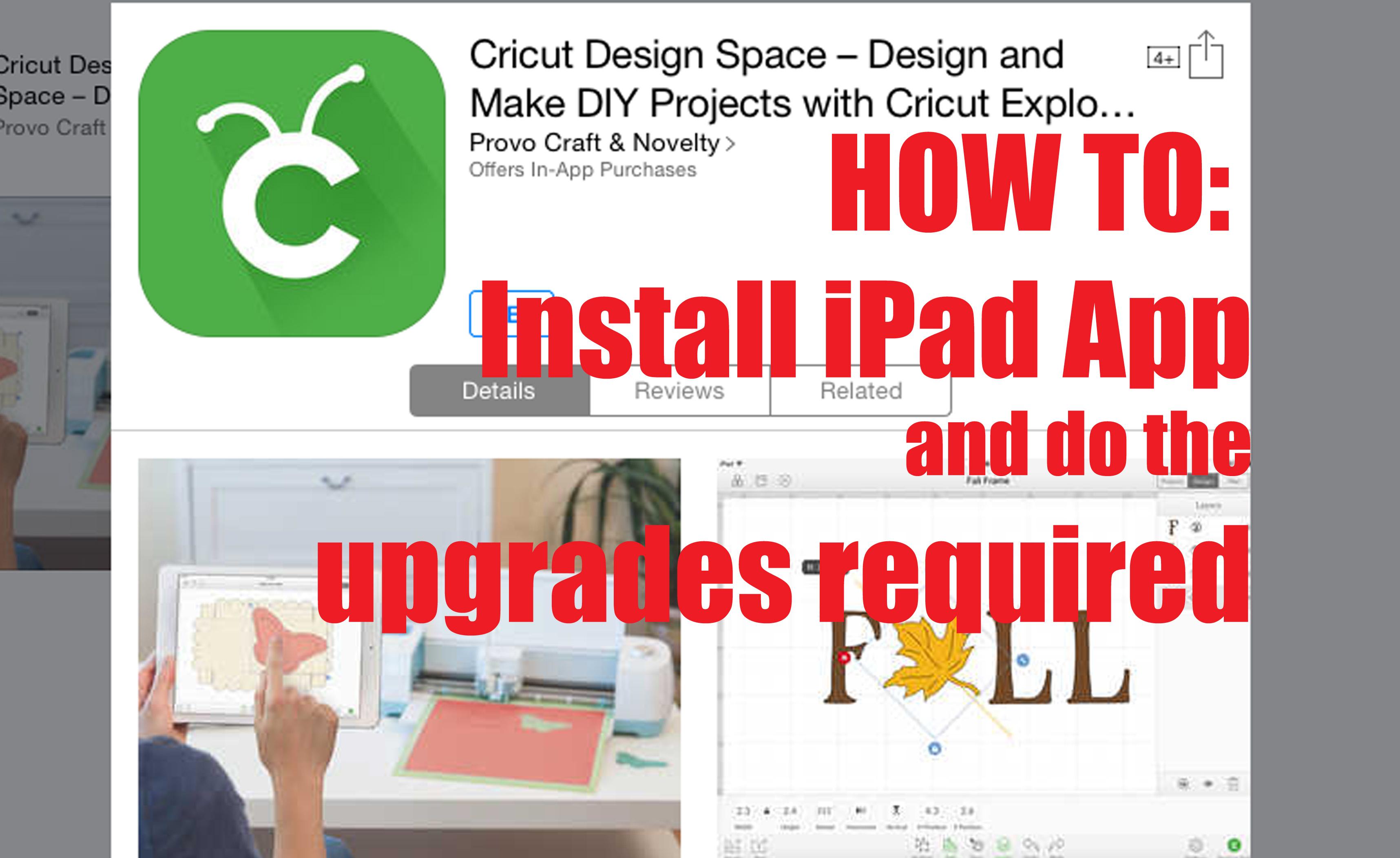 cricut ipad app