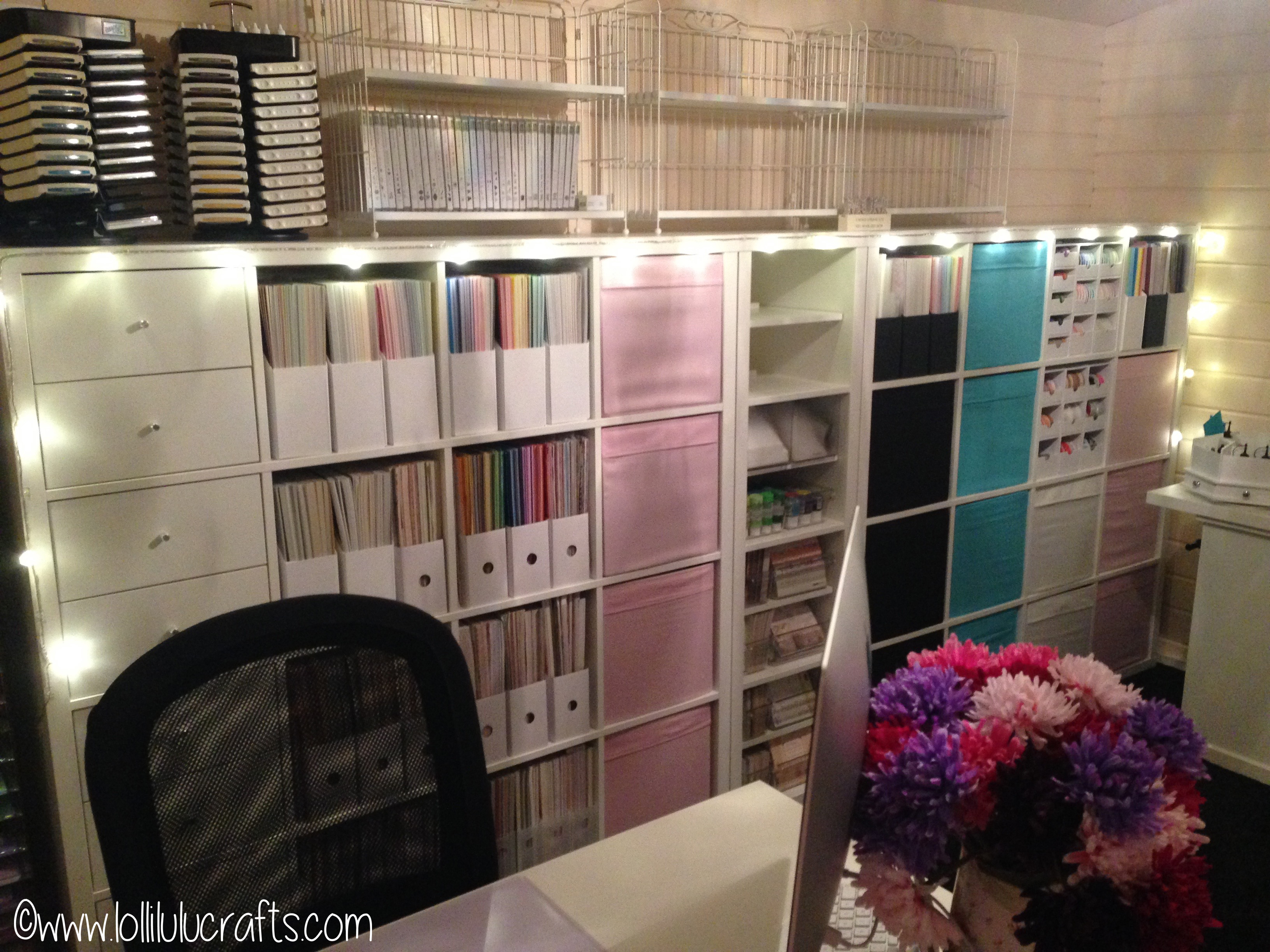 Storage Solutions For Craft Rooms: Lolli's Lodge Storage Solutions & Craft Room Tour