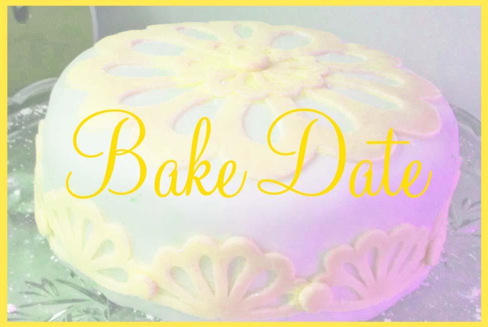 tile - bake date yellow