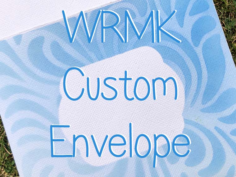 WRMK Custom Design Envelope
